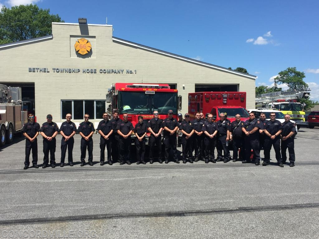 Concordville and Bethel Firefighters