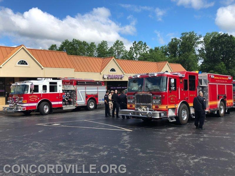Squad 66 and Rescue 59