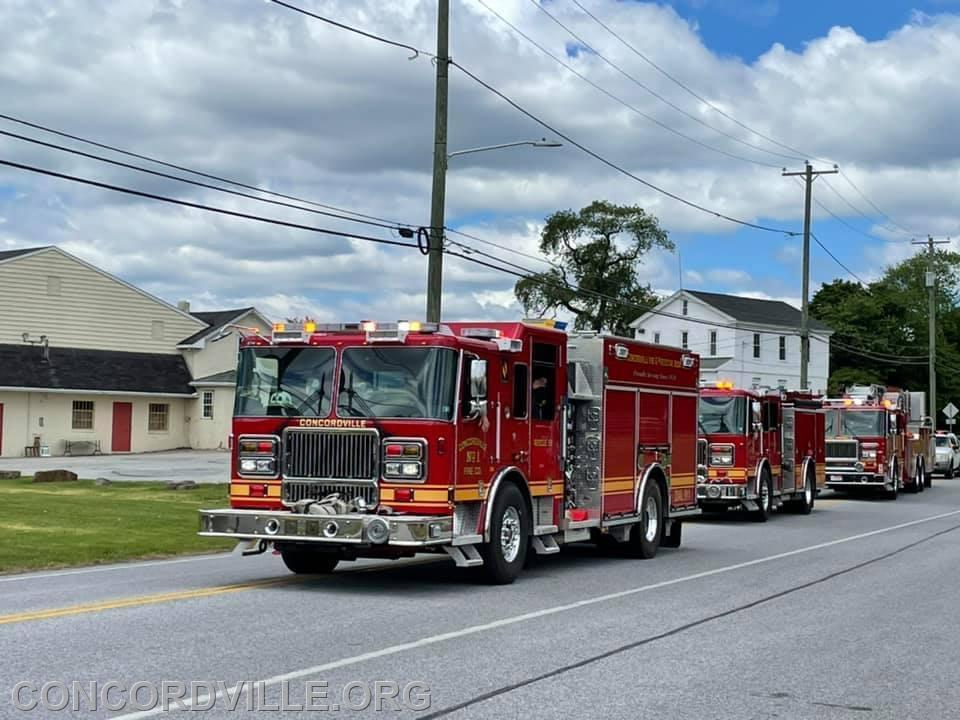 Rescue 59, Engine 592 and Tower Ladder 59
