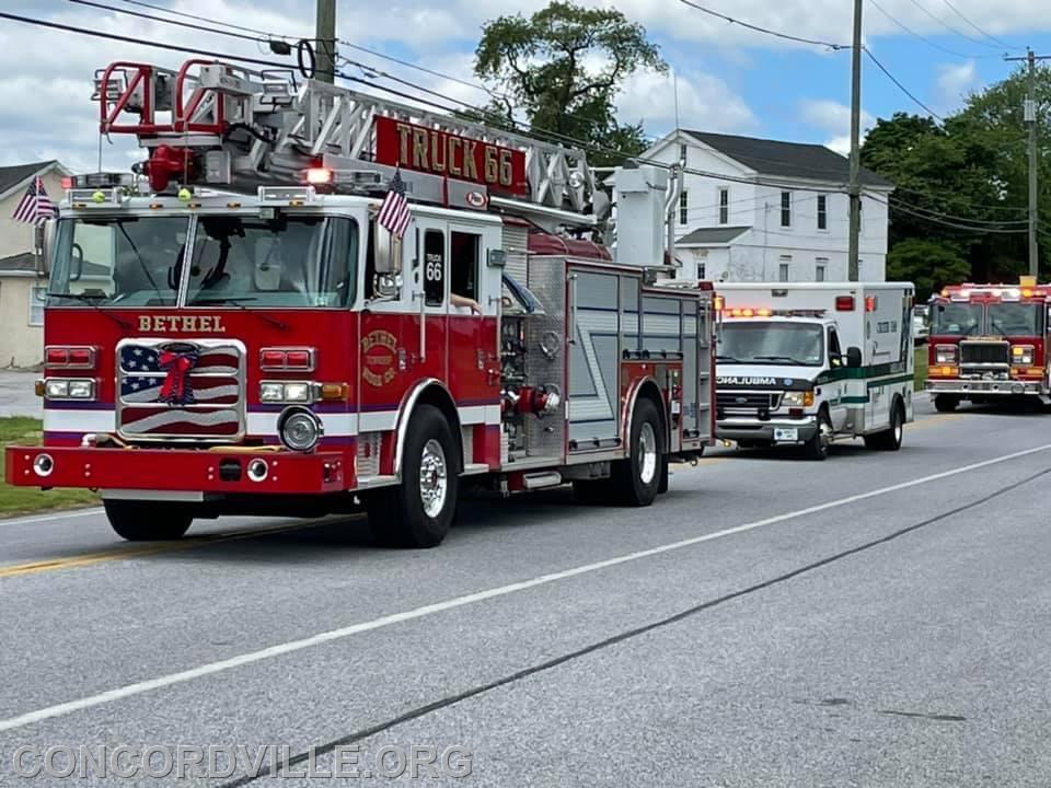 Truck 66 and MICU 66